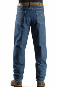 Carhartt Relaxed Fit Tapered Leg Jeans Size 34x32